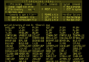 Patching WordStar for use with a VT-100 Terminal