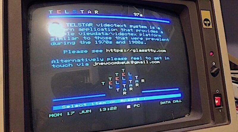 The TELSTAR Videotex System