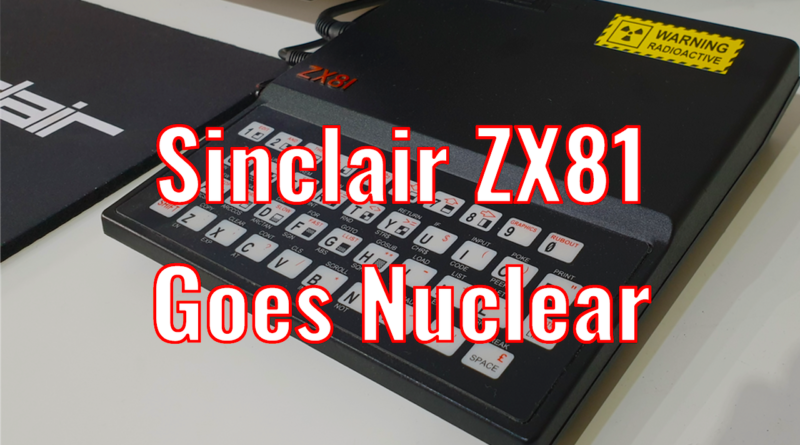 ZX81 Controls a Nuclear Power Plant
